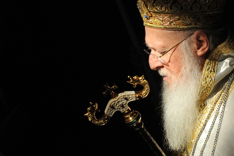 Ecumenical Patriarch Bartholomew I, who