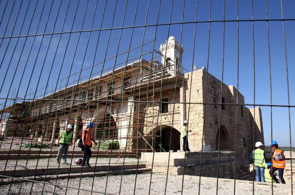 Restoration of the Holy Monastery of Apostolos Andreas Cyprus