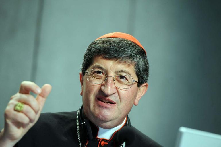 L'arcivescovo di Firenze, cardinale Giuseppe Betori