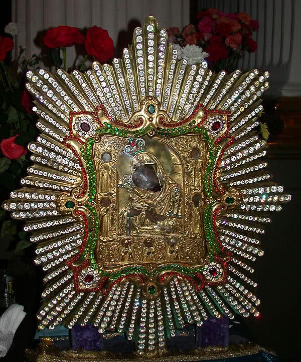 L'icona originale della Madre di Dio di Pochaev