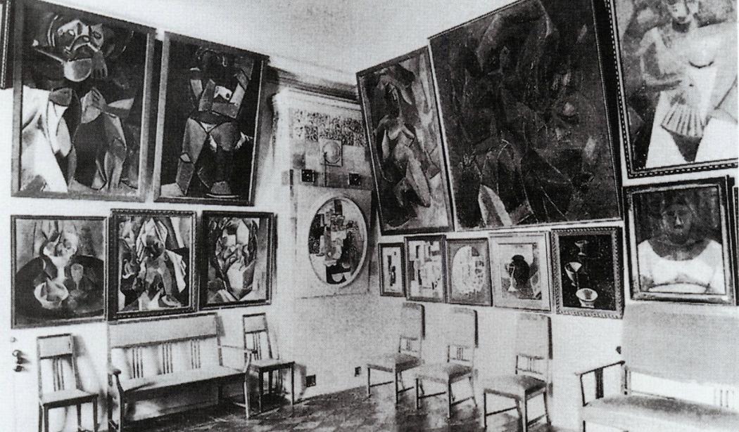 Una foto d'epoca della straordinaria Collezione Schukin