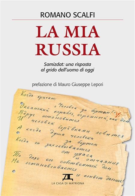La copertina del libro di padre Romano Scalfi